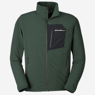 Men's Sandstone Backbone Jacket in Green
