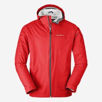 Men's Cloud Cap Rain Jacket in Red