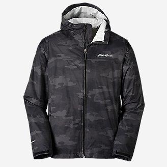 Men's Cloud Cap Rain Jacket in Green