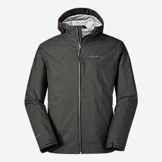 Men's Cloud Cap Rain Jacket in Gray