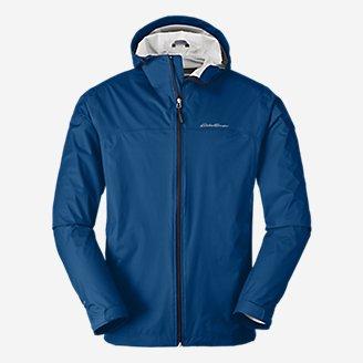 Men's Cloud Cap Rain Jacket in Blue