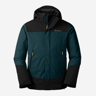 Men's Powder Search 2.0 3-In-1 Down Jacket in Green