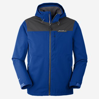 Men's All-Mountain Stretch Jacket in Blue
