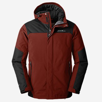 Men's Powder Search Pro Insulated Jacket in Brown