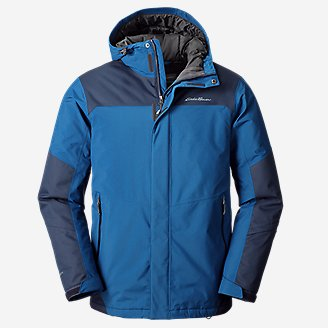Men's Powder Search Pro Insulated Jacket in Blue