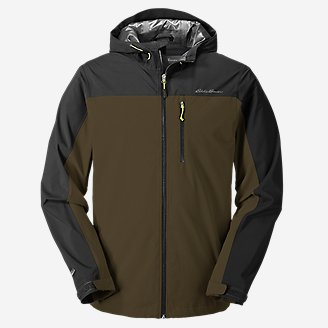 Men's Cloud Cap Stretch 2.0 Rain Jacket in Green