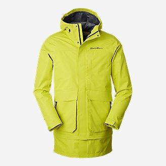 Men's Centennial Collection Convertible Rain Jacket in White