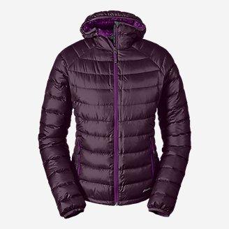 Women's Downlight Down Hooded Jacket in Purple