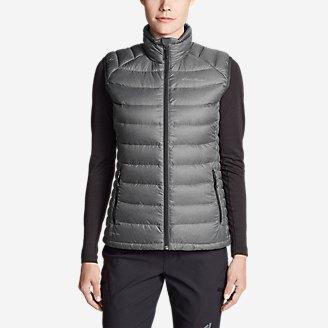 Women's Downlight Vest in Gray
