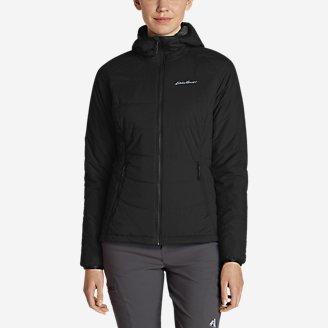 Women's IgniteLite Flux Stretch Hooded Jacket in Black