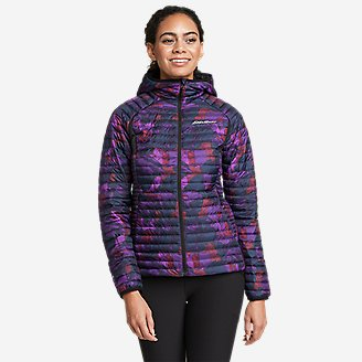 Women's MicroTherm 2.0 Down Hooded Jacket in Purple