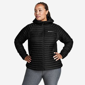 Women's MicroTherm 2.0 Down Hooded Jacket in Black