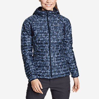 Women's MicroTherm 2.0 Down Hooded Jacket in Blue