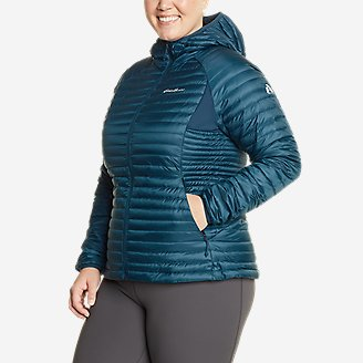 Women's MicroTherm 2.0 Down Hooded Jacket in Green