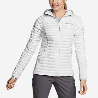 Women's MicroTherm 2.0 Down Hooded Jacket in White
