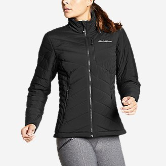 Women's IgniteLite Stretch Reversible Jacket in Black