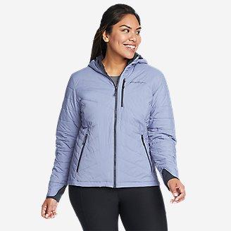 Women's IgniteLite Stretch Reversible Hooded Jacket in Blue