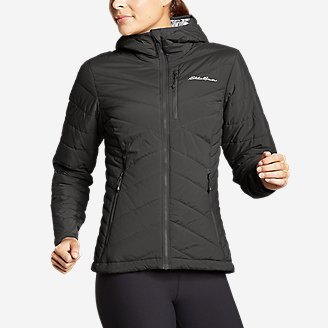 Women's IgniteLite Stretch Reversible Hooded Jacket in Gray