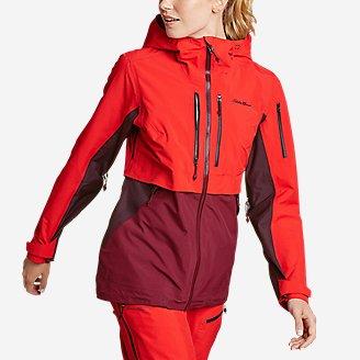 Women's BC Fineline Jacket in Red