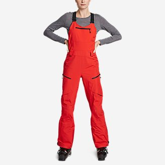 Women's BC Fineline Bib in Red