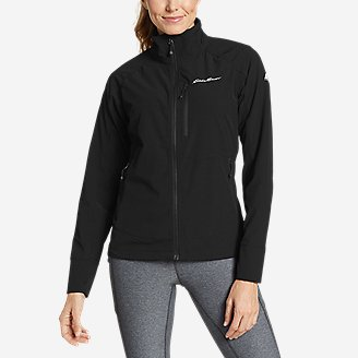 Women's Sandstone Backbone Jacket in Black