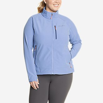 Women's Sandstone Backbone Jacket in Blue