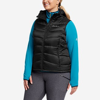 Women's Downlight 2.0 Hooded Vest in Black