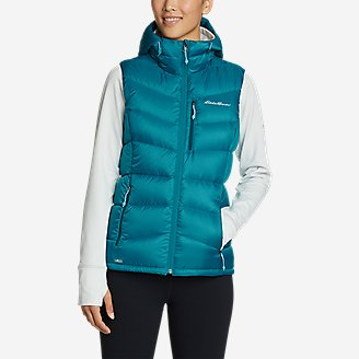 Women's Downlight 2.0 Hooded Vest in Blue