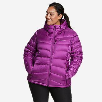 Women's Downlight 2.0 Hooded Jacket in Purple