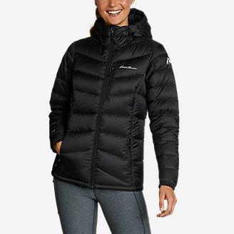Women's Downlight 2.0 Hooded Jacket in Black