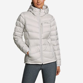 Women's Downlight 2.0 Hooded Jacket in Beige