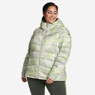 Women's Downlight 2.0 Hooded Jacket in Green