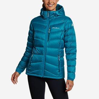 Women's Downlight 2.0 Hooded Jacket in Blue
