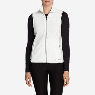 Women's Quest 200 Fleece Vest in White