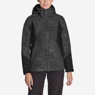 Women's Powder Search 2.0 3-In-1 Down Jacket in Gray