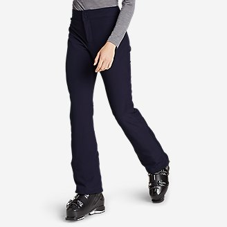 Women's Alpenglow Stretch Ski Pants in Blue