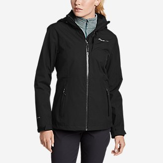 Women's All-Mountain Stretch Jacket in Black