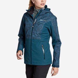 Women's All-Mountain Stretch Jacket in Green