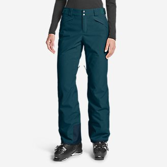 Women's Powder Search 2.0 Insulated Pants in Green