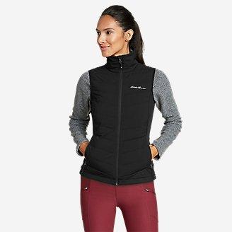 Women's MotionLoft Hybrid Down Vest in Black
