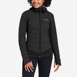 Women's MotionLoft Hybrid Down Jacket in Black