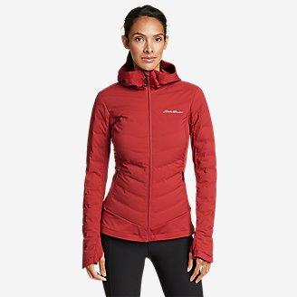 Women's MotionLoft Hybrid Down Jacket in Red
