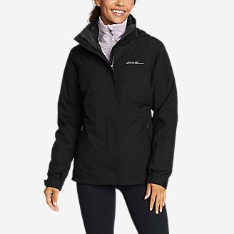 Women's Powder Search 3.0 3-in-1 Down Jacket in Black