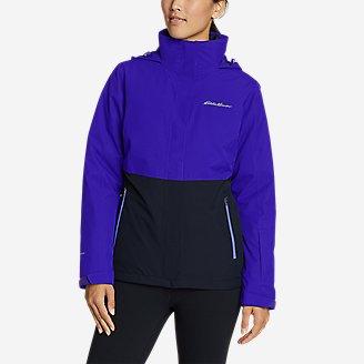 Women's Powder Search 3.0 3-in-1 Down Jacket in Purple