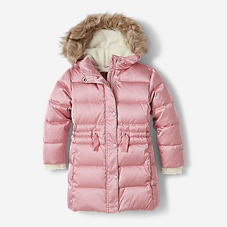 Toddler Girls' Cirruslite Down Parka in Red