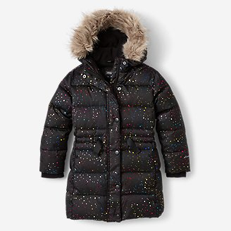 Toddler Girls' Cirruslite Down Parka in Black