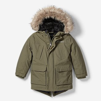 Toddler Boys' Superior Down Parka in Green