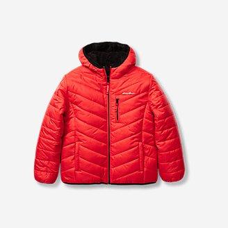 Toddler Boys' Deer Harbor Reversible Hooded Jacket in Red