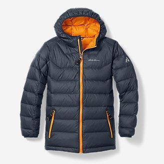 Boys' Downlight Hooded Jacket in Blue