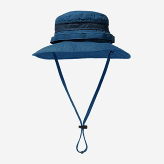 Exploration UPF Vented Boonie Hat in Blue